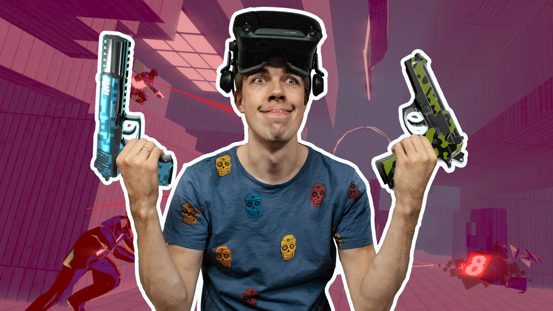 Pistol Whip VR sacensības